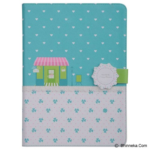 BASEUS Flower Case for Apple ipad air Lucky Clover [LTAPIPAD5-FW06] - Casing Tablet / Case